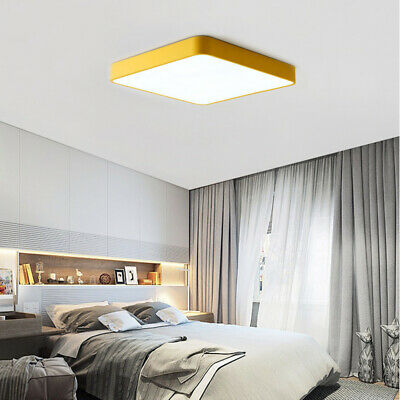 18W Modern Acrylic Ceiling Light Fixture LED Lamp Surface Mount Living Bedroom