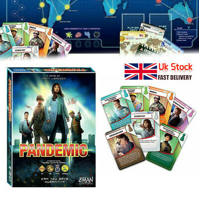 Z-Man Games - Pandemic Board Game Role Cards Set Kit 2020