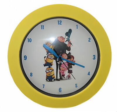 """Despicable Me 2 Wall Clock 25cm """"Family"""""""