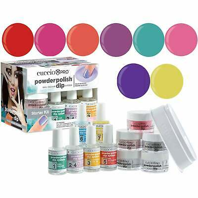 Cuccio Pro Powder Polish System Dipping Powder - Heatwave Collection Starter Kit