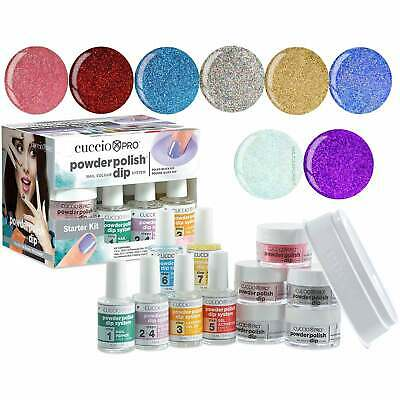 Cuccio Pro Powder Polish Nail System Dipping Powder - She Shimmers Starter Kit