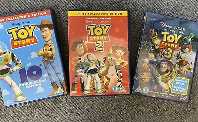 toy story 1 2 3 dvds