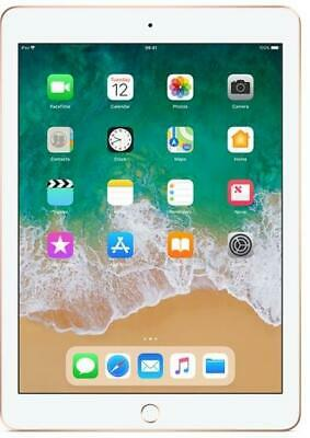 "Apple iPad 9.7"" 6th Generation 32GB Gold WIFI New Retail Boxed 12 Months"