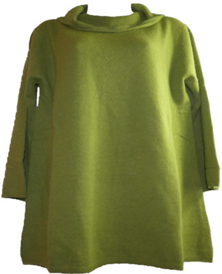 mothercare maternity size 14/16 green polo roll neck jumper super soft