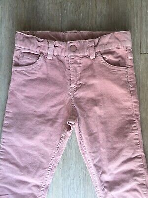 Girls Pink Cord Jeans 7-8 Mothercare NEXT DAY DELIVERY VGC