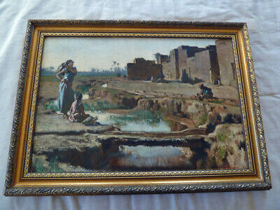 Fine French Post Impressionist Middle Eastern Scene - late 19th Century
