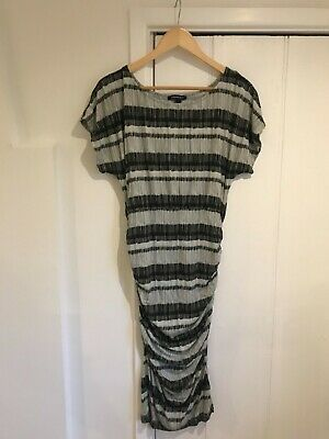 Isabella Oliver maternity dress, black and grey, size 10