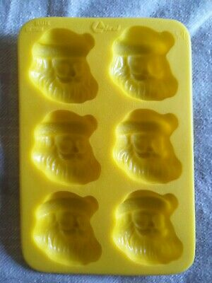 Christmas tree, Santa Silicone Moulds Wax Melts, Ice, Chocolate