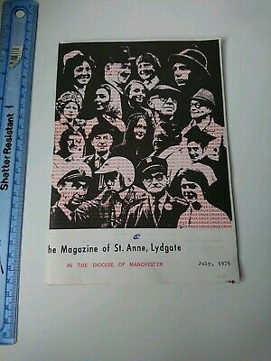 The Magazine Of St. Anne, Lydgate, July 1975 in the Diocese of Manchester