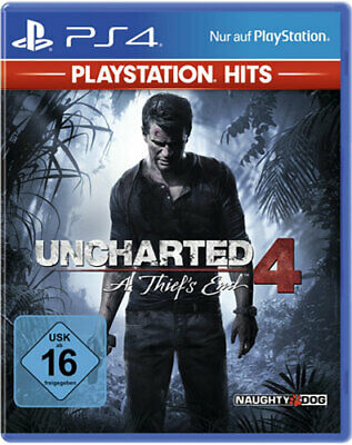 Uncharted 4 - A Thief's End  [PS4]  Neu & OVP