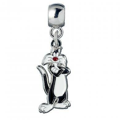 New Official Genuine Looney Tunes Silver Plated Sylvester Slider Charm