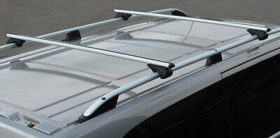 Cross Bars For Roof Rails To Fit Mercedes-Benz X-Class (2018+) 100KG Lockable
