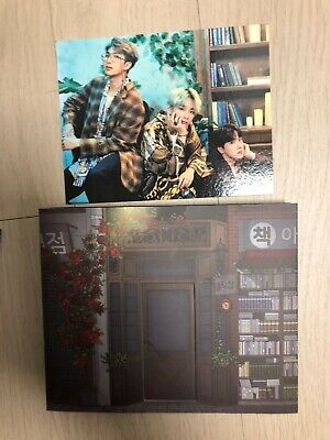 BTS 5th Muster Magic Shop Official MD Pop up Card Split Busan Ver. Limited Rare