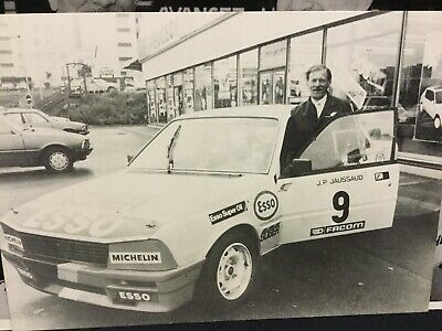 Rare Lot Photos Originales 1985 Rallye PEUGEOT 505 COURSE   !!!