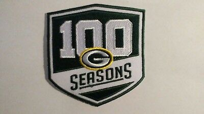 NFL GREEN BAY PACKERS 100th JERSEY HAT CAP JACKET SHIRT HOODIE FOOTBALL PATCH