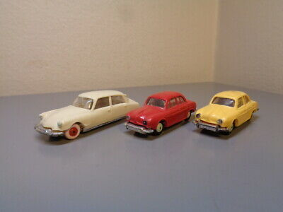 Norev France Vintage Car Collection 1/86 Scale Very Good Condition