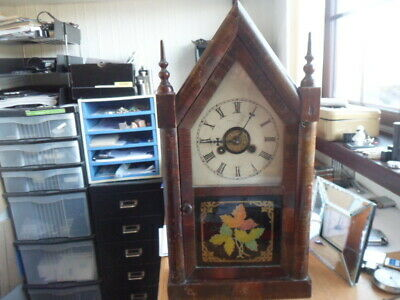 Jerome Gothic clock (New Haven Connecticut)