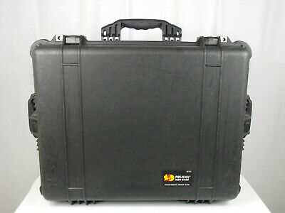 Pelican 1620 Military Deployment Storage Case (Black) - NICE !!