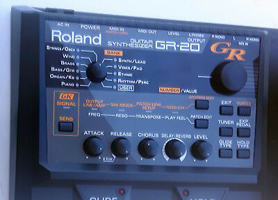 Roland GR 20 - Guitar synth GK system - excellent look pro eu01