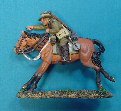 King & Country Australian Cavalry Soldier On Horse Back Al 004, Used