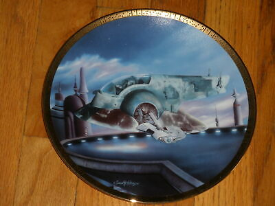 The Hamilton Collection Star Wars Space Vehicles Plate Slave One