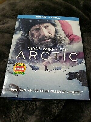 ARCTIC (Blu-ray/Digital Copy, 2019) w/slipcover