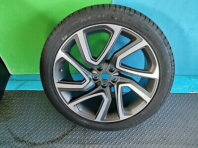 """LAND ROVER DISCOVERY 5 22"""" ALLOY WHEEL & NEW Tyre 285/40/22  Style 5025"""