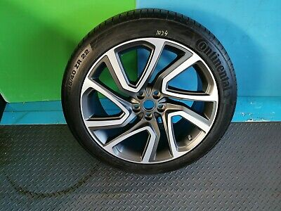 """LAND ROVER DISCOVERY 5 22"""" ALLOY WHEEL & Continental Tyre 285/40/22  Style 5025"""