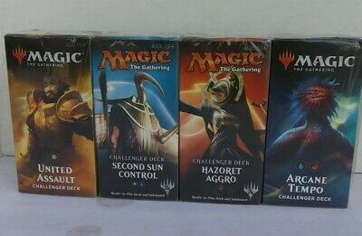 MAGIC-The Gathering- 4 Factory Sealed Challenger Decks