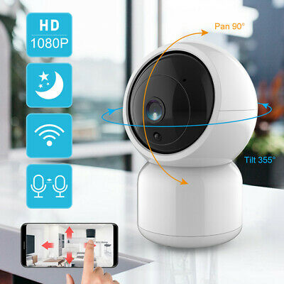 Cloud Wireless HD 1080P WIFI IP Camera Outdoor Security IR Night Vision Pan Tilt