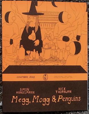 Megg Mogg Penguins (Owl Sleeps?) Simon Hanselmann Nick Thorburn OOP Ltd 700 NM+