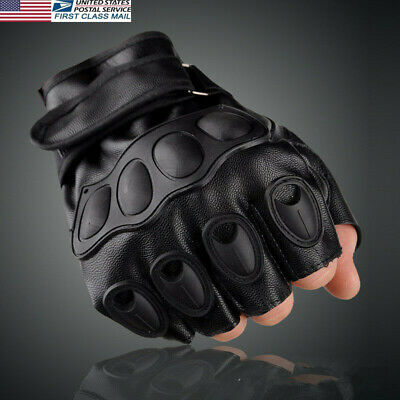 US Army Tactical Gloves Outdoor Sports Half Finger Cycling Bikes Hunting Gloves#