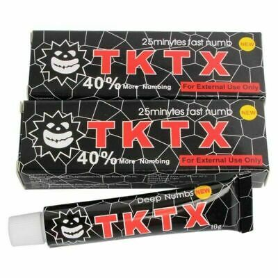 2* Tk Tattoo 39% Numbing skin Topical Anesthetic Numb 25 minutes Wholesale
