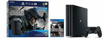 Sony PlayStation 4 Pro 1TB - Call of Duty: Modern Warfare Console Bundle