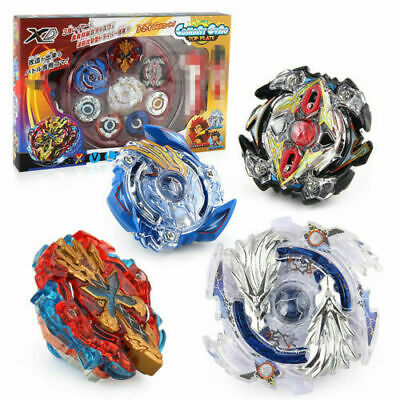 XMAS Gift Beyblade Burst Arena Launcher SET Evolution Battle Stadium Kids Toys