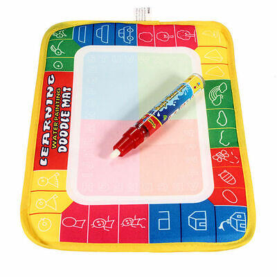 Magical Kid Drawing Water Pen Painting Doodle Aquadoodle Mat Board Children Toy