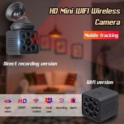 Mini Telecamera Spia WiFi Camera IP Nascosta Spy Cam HD Wireless Night Vision
