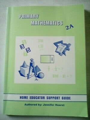 Sonlight Primary Math 2A home educator support guide
