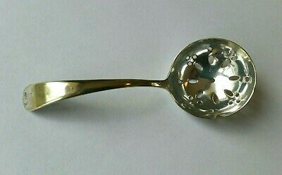 19th Century Antique Silver Plated Sugar Ladle Spoon Sugar Sifter Sprinkler EPNS