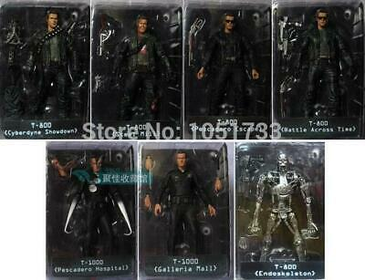 "NECA The Terminator 2 Action Figure T-800 ENDOSKELETON Classic Figure Toy 7""18cm"