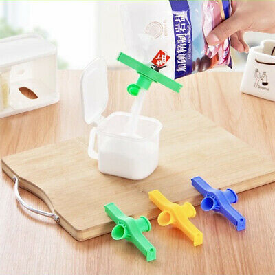 Portable Bag Clip Storage Food Fresh Clips Sealing Kitchen Sealer Reusable ZB