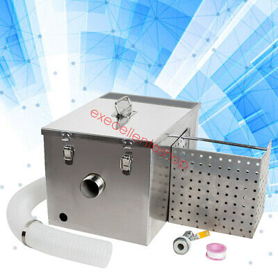 Grease Trap Interceptor With Oil Drain Device and Sampling Port Stainless Steel