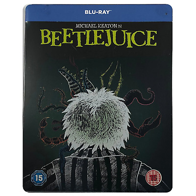 Beetlejuice Steelbook - Limited Edition Blu-Ray
