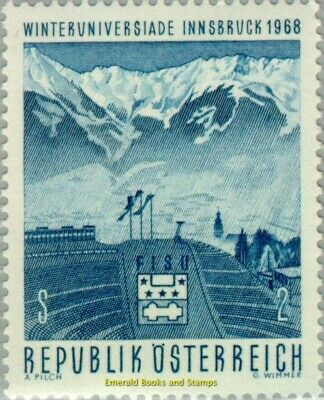 EBS Austria 1968 Winter University, Innsbruck - Winteruniversiade ANK 1287 MNH**