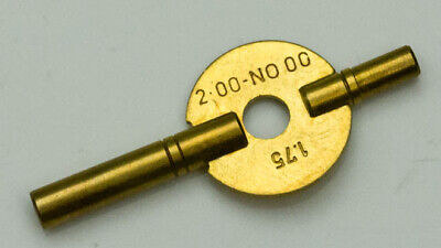 Carriage Clock New Brass Winding Key Antique Clocks Double Ended 2mm - 4.75mm
