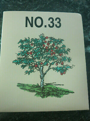 Brother No. 33  Foliage Embroidery Card fits Baby lock, Bernina