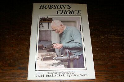 Hobson's Choice English Bracket Clock Repeating Work By Charles Hobson