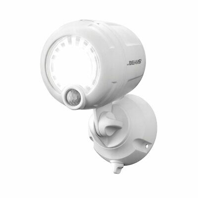 Mr. Beams Wireless Battery-Operated Outdoor Motion-Sensor-Activated LED