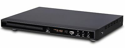 Denver DVH-1244 Multi Region DVD Player & Upscaling DVD player 1080p With HDMI,