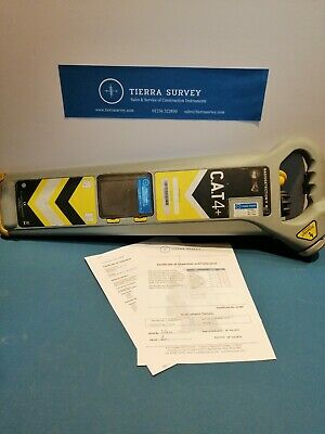 Radiodetection eCAT4+ Cable Avoiding Just Calibrated with 12 month Cert £280+VAT